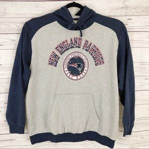 brand new d91ca 2e074 NFL New England Patriots Embroidered Hoodie